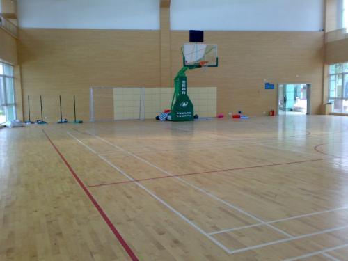 体育木地板翻新