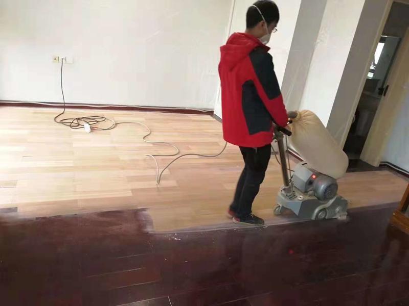 木地板打磨翻新