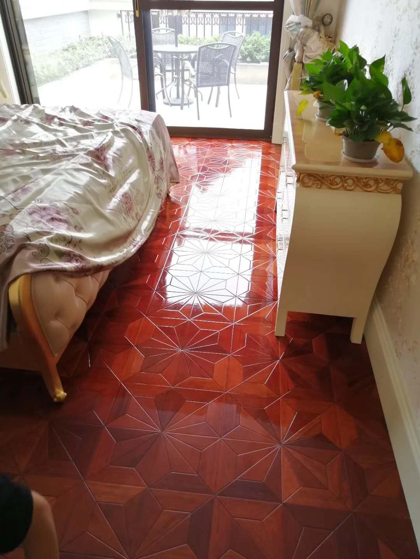 拼花地板抛光修复划痕