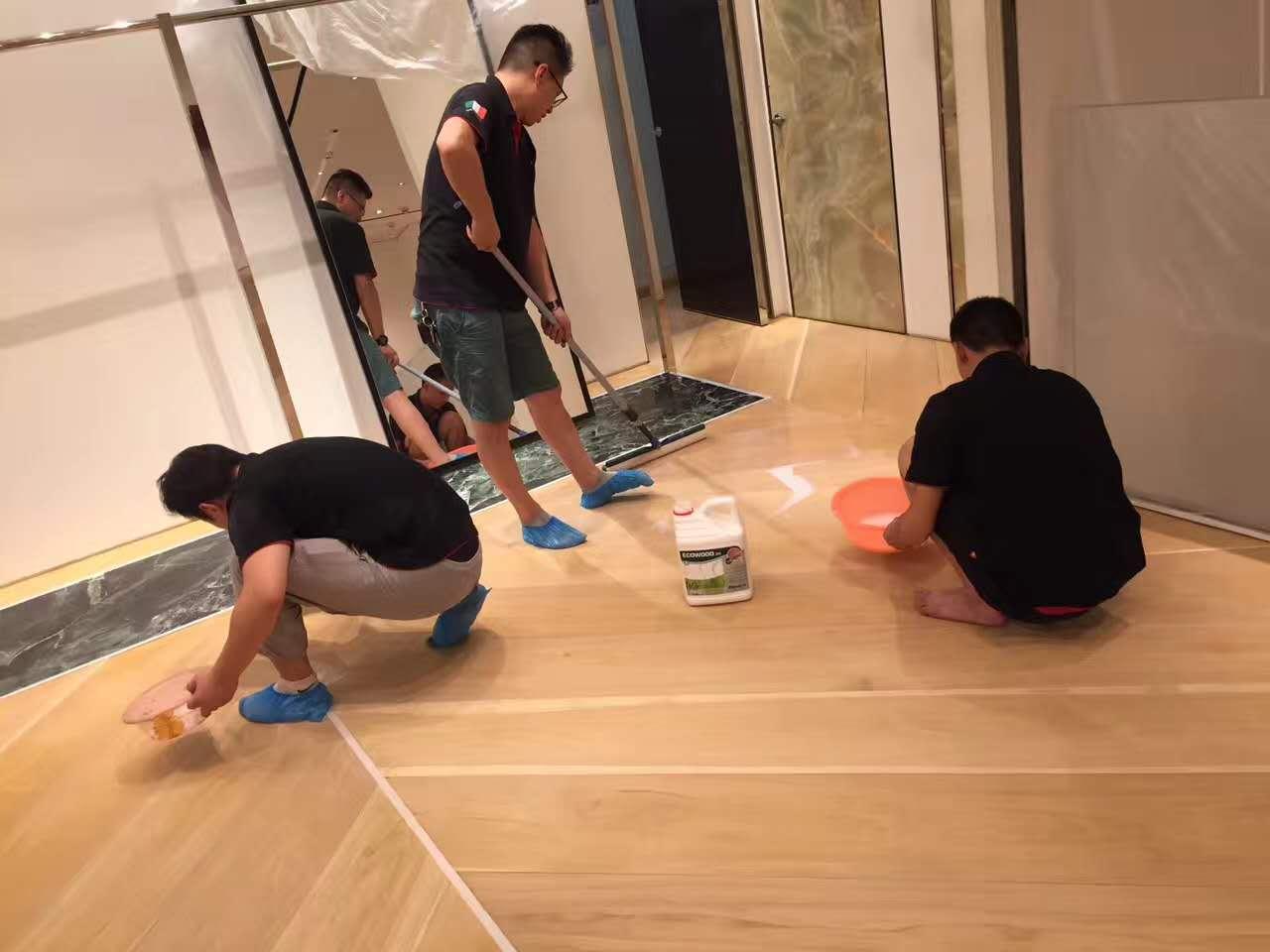 CELINE商铺地板打磨翻新