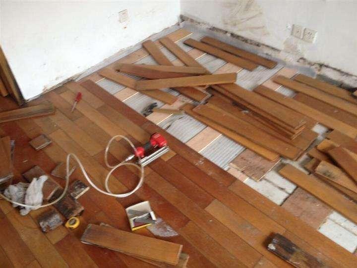 实木地板打磨翻新